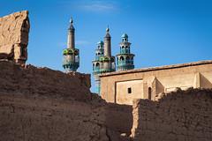 Yazd - Iran (akcfoto) Tags: yazd iran architecture perse persia bleu blue voyage travel