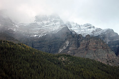 Snow-Covered Mountain (JB by the Sea) Tags: banff banffnationalpark alberta canada september2019 rockies rockymountains canadianrockies morainelake wenkchemnarange valleyofthetenpeaks