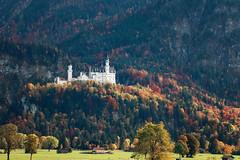 Schwangau, Autumn (EdiB.) Tags: landscape castle germany schwangau neuschwanstein autumn mountain trees