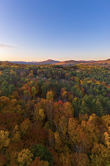 Vermont Fall (Daniel000000) Tags: fall old new colors autumn dji drone mavic 2 pro uav landscape trees hills mountains sky clouds cloud country art orange green blue colorful vermont eastern united states england