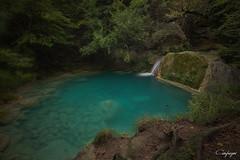 La vida en sueño...281/365 (cienfuegos84) Tags: urederra un sueño dream agua cascada otoño autumn fall