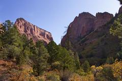Zion Kolob Canyon, Utah, USA (swissuki) Tags: zion kolob canyon cliffs colors fall national nature park landscape largelandscape mountain usa ut utah
