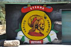 Oaxaca Sign Mural Art Skeleton Painting (Ilhuicamina) Tags: art murals mexican oaxacan painting signs streetart skeleton