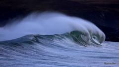 Storm ripcurls (mootzie) Tags: storm port ness ripcurl waves froth sea scotland october autumn aquablue spray white aqua lewis outerhebrides