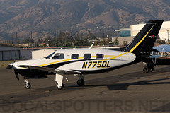 N775DL (SoCalSpotters) Tags: n755dl socalspotters pa46 piper bracketfield
