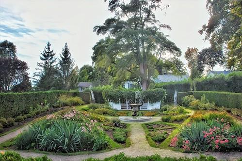 Brockville Ontario -  Canada  - Fulton Place - Heritage Trust - Sculpture Garden