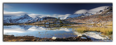 08102019 EOS 6D Mark II - 053_Pano pose longue Lac Guichard1 (ChristDup) Tags: longexposure panorama paysage poselongue sky lake snow reflection water clouds landscape eau lac reflet ciel neige savoie nuages maurienne mountain montagne alpes canon frenchalps canoneos6dmarkii canonef24105mmf4lisiiusm