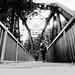 Iron bridge marks