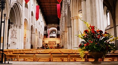 Alban Nave (dhcomet) Tags: stalbans alban cathedral abbey church religion cofe nave