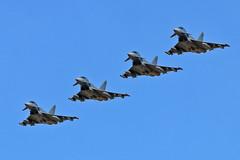 Luftwaffe 4 ship Cobra Warrior 2019 17-09-19 (PlanecrazyUK) Tags: rafwaddington egxw wtn lincoln lincs luftwaffe 4ship cobrawarrior2019 170919