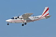 G-BJEC BN2T Islander Islander Aircraft Ltd WTN 19-09-19 (PlanecrazyUK) Tags: rafwaddington egxw wtn lincoln lincs gbjec bn2tislanderislanderaircraftltd 190919