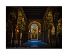 Mezquita de Córdoba (My digital Gallery) Tags: cordoba spain europe andalusia andalusien spanien mezquita kirche moschee innenraum sakral sakralbau kulturdenkmal church zentralperspektive
