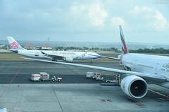 Ngurah Rai International Airport (Iyhon Chiu) Tags: bali indonesia ngurahrai 機場 インドネシア バリ島 峇里島 international airport 中華航空 華航 飛機 飛行機 airplane
