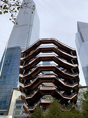 Hudson Yards, NYC (Mr.TinDC) Tags: nyc newyorkcity ny architecture buildings skyscrapers thevessel hudsonyards manhattan