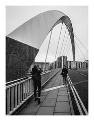 Photography (burnsmeisterj) Tags: olympus omd em1 glasgow street photography monochrome blackandwhite bridge clyde squinty