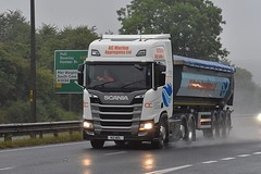 N21 MDL (Martin's Online Photography) Tags: scania r500 nextgeneration truck wagon lorry commercial vehicle freight haulage transport a63 eastyorkshire southcave nikon nikond7200