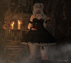 Mephisto's Lullaby (Vanjah Rajal) Tags: secondlife sl dark demon blood doll horror goth gothic vampire