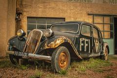 Vieille connaissance ! (Jef ALTERO) Tags: voiture citroën tractionavant ffi résistance libération guerre mondiale