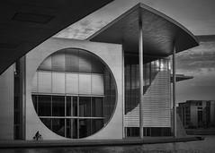 Zeitgeist (Andrew G Robertson) Tags: berlin modern reichstag marie elisabeth luders haus round window cyclist germany paul lobe mitte