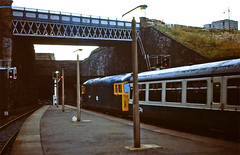Glasgow Queen Street. (curly42) Tags: class27 railway scotrail transport britishrail glasgowqueenstreet