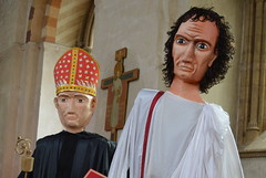 The Law And The Priest (dhcomet) Tags: stalbans alban cathedral abbey church religion cofe pilgrimage puppet bishop magistrate