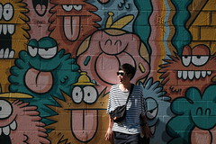 😜 (jhnmccrmck) Tags: honolulu hawaii fujifilm fujifilmxt1 xt1 xf1855mm classicchrome people graffiti kevinlyons
