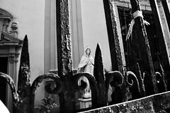 Palermo, Sicily (Eniram Cerf) Tags: italy church faith iglesia virgin chiesa sicily palermo église virgen italie sicile palerme vierge blackandwhite noiretblanc nikond5300