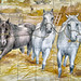 3 Horses,   National Museum of the Azulejo (National Tile Museum), Lisbon