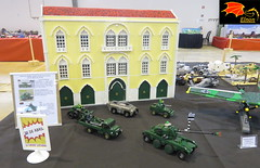 25 of April vehicles Display (Eínon) Tags: 25 de abril quartel do carmo lego display revolução dos cravos portugal 1974 panhard ebr chaimite salgueiro maia