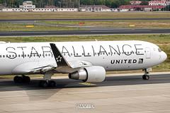 United Airlines - Boeing 767-300 (Star Alliance Livery) [N653UA] at Berlin Tegel Airport - 22/07/19 (David Siedler) Tags: united unitedairlines boeing boeing767 boeing767300 b767 b763 staralliance staralliancelivery n653ua berlin tegel airport berlinairport tegelairport berlintegelairport txleddt