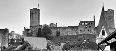 Münzenberg Burg (wernerfunk) Tags: castle hessen schwarzweiss blackwhite