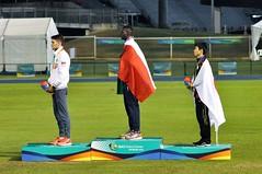 Ndiaga Dieng sul podio dei 1500m