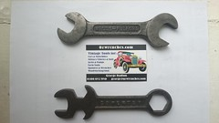 Mills Fulford Spanners 1919/25 (BSMK1SV) Tags: mills fulford sidecar tool wrench spanner brough superior mk1 ozwrenches