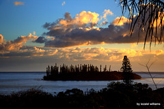 Remote viewing ...Paradise back on Earth IMG_5068 (iezalel7williams) Tags: sunset sky beautiful photography clouds islet silhouette photo pinetrees nature beauty naturalplace newcaledonia love high energy vibration light landscape yellow remoteviewing enjoy isleofpines paradise planetearth seascape holidays travel view happylife thinkpositive thankyou
