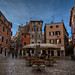 The streets of the old city. Rovinj, Croatia