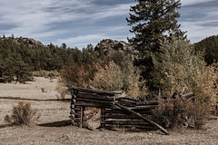 (Luminous☆West) Tags: sigma sd sdq sdqh quattro h sdquattroh foveon 35mm f14 14 dg art landscape abandoned cabin forest colorado mountains autumn fall sdqh2765 house rustic x3f