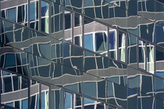 Reflections VI (Jan van der Wolf) Tags: map19566v lines reflection reflections reflectie spiegeling facade gevel gebouw geometric architecture architectuur lijnen lijnenspel abstract