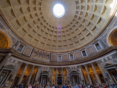 Pantheon (Joey Hinton) Tags: rome italy olympus omd em1 714mm f28 mft m43 microfourthirds pantheon ancient