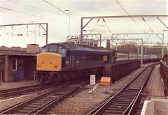 45111 St Pancras 13th May 1983 (clivepsmithmarch1960) Tags: 45111 stpancras