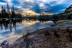 """Sunset at Nydammen • <a style=""""font-size:0.8em;"""" href=""""http://www.flickr.com/photos/126602711@N06/48961952512/"""" target=""""_blank"""">View on Flickr</a>"""