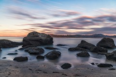 The Echo Never Fades (Anna Kwa) Tags: lonelybaybeach shakespearecliffreserve sunset coromandel northisland newzealand longexposure annakwa nikon d750 2401200mmf40 my echo moment live courage always seeing heart soul throughmylens life journey fate destiny travel world célinedion