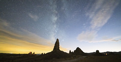 In a Galaxy Far, Far Away... (magnetic_red) Tags: extremeterrain night sky clouds pinnacles spires stars starrynights milkyway tronapinnacles tufas