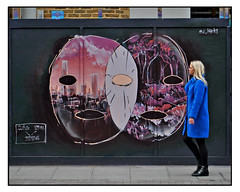 STREET ART by ED HICKS (StockCarPete) Tags: edhicks streetart londonstreetart urbanart graffiti londongraffiti shoreditch shoreditchart london uk