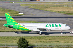 TLS - Airbus A320-214 (PK-GQL) Citilink (Shooting Flight) Tags: msn6753 citilink aéropassion airport aircraft airlines aéroport aviation avions airbus paint 60d photography photos passage taxiway lfbo toulouse toulouseblagnac tractage canon natw a320 a320214 pkgql garuda indonesia tls