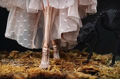 Holy Skeleton (pure_embers) Tags: pure laura embers porcelain bjd doll dolls england uk girl zuluminous sparrow pureembers holy skeleton painted photography photo ball joint portrait fine art beauty dark dog companion feet