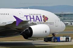 """Kamalasai / กมลาไสย"" Thai Airways International HS-TUF Airbus A380-841 cn/131 @ EDDF / FRA 01-04-2017 (Nabil Molinari Photography) Tags: kamalasaiกมลาไสย thai airways international hstuf airbus a380841 cn131 eddf fra 01042017"