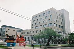 酒田市役所 Sakata City Hall (しまむー) Tags: pentax mz3 smc a 28mm f28 kodak gold 200 北海道&東日本パス 普通列車 local train trip east japan