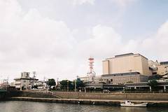 酒田市 Sakata City (しまむー) Tags: pentax mz3 smc a 28mm f28 kodak gold 200 北海道&東日本パス 普通列車 local train trip east japan
