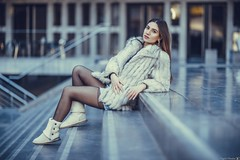 Krizia (Vagelis Pikoulas) Tags: portrait woman women beautiful beauty acropolis museum bokeh art 85mm sigma f14 photography photoshoot canon 6d athens greece