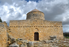 The old Church (RapidSpin) Tags: church cyprus greek orthodox romanesque byzantine building